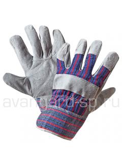 Перчатки «Ангара» спилковые комбинированные утепленные