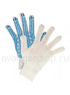 Перчатки х/б с ПВХ(10 класс) «Протектор»