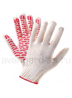 Перчатки х/б с ПВХ(10 класс) «Волна»